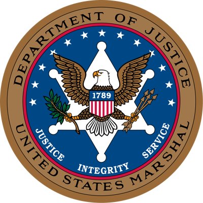 U.S. Marshals logo badge