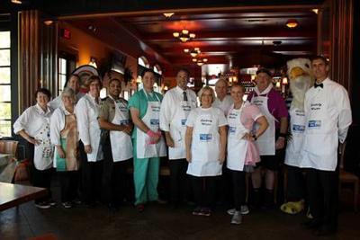 Local celebrities volunteer as waiters for Rappahannock United Way