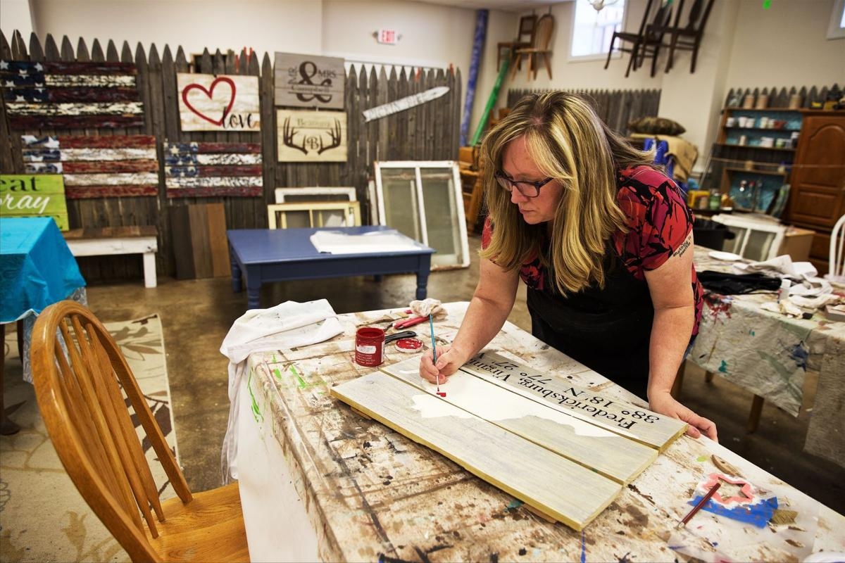 Local women turn craft hobbies into businesses business for Craft hobbies for women
