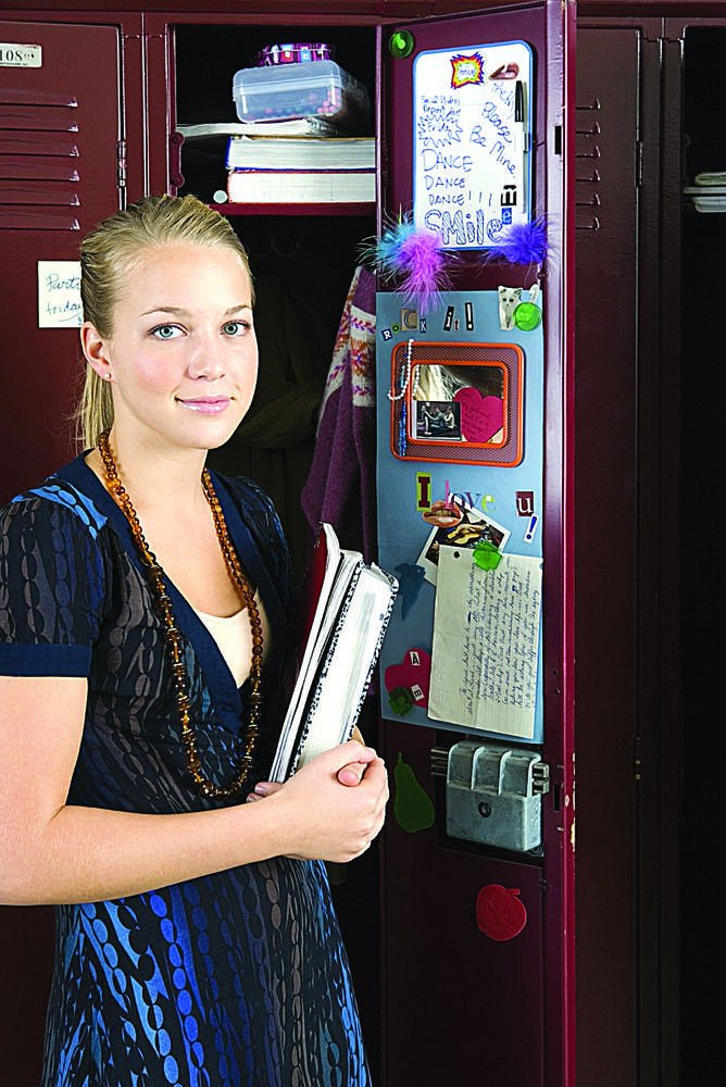 Students Put Personality On Display In School Lockers