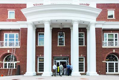 UMW names technology center after university President Rick Hurley