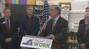 PHOTO: Right to work