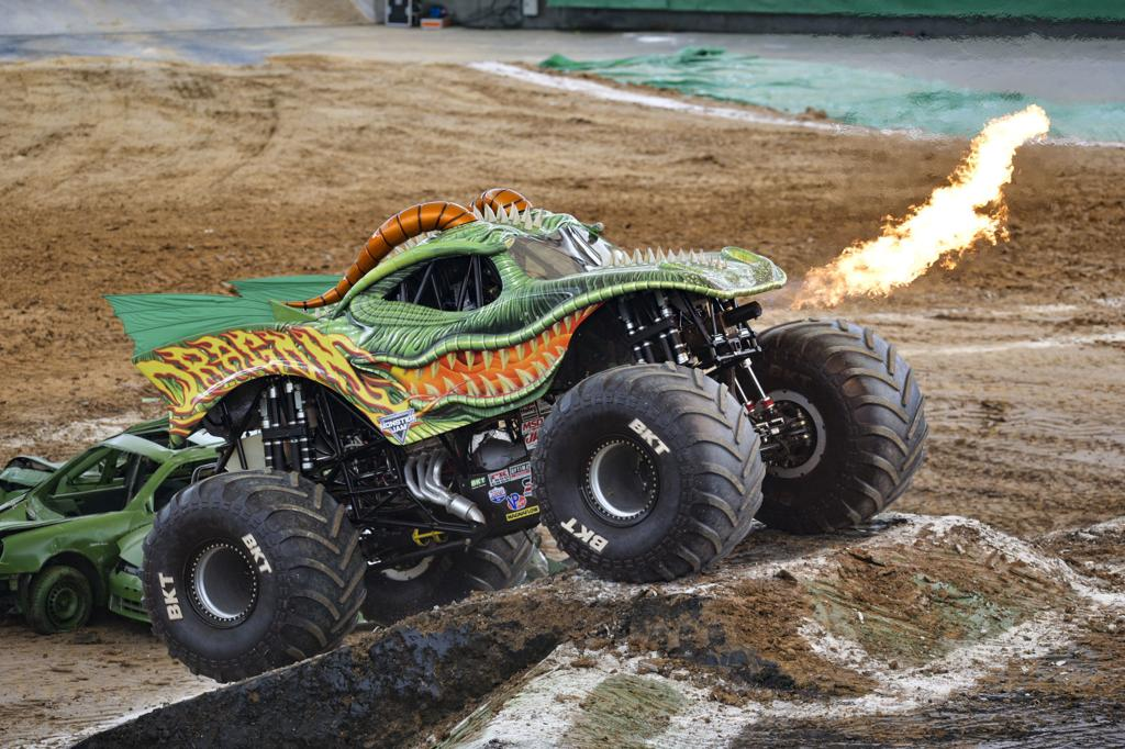 Four Wheeled Monsters On The Loose At Monster Jam Weekender Fredericksburg Com