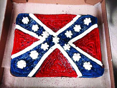 Local bakery gets attention for Confederate flag cake