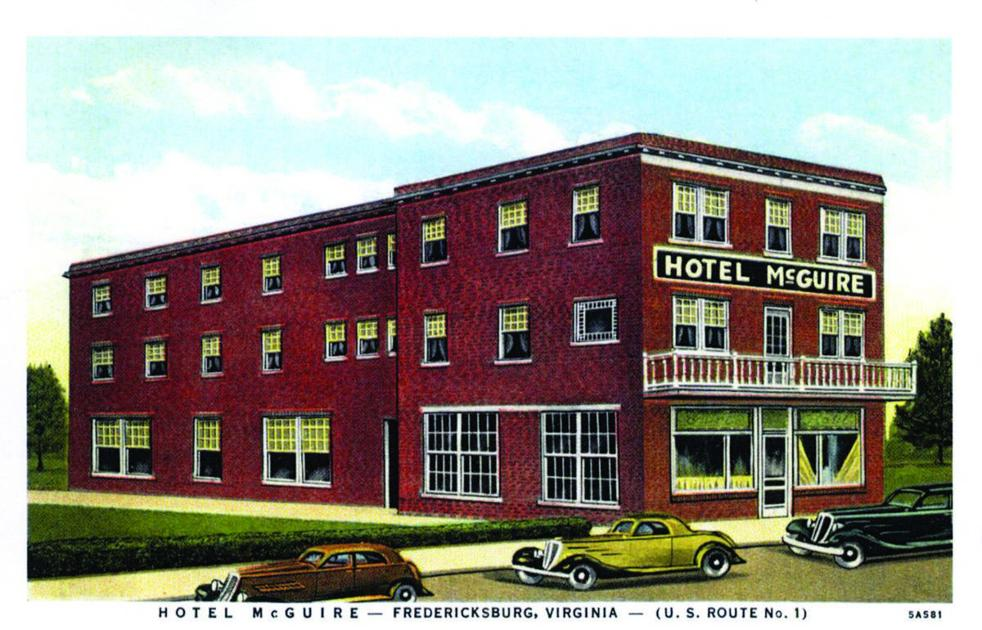 Local Collector Shares Rare Hotel Mcguire Postcard History Fredericksburg