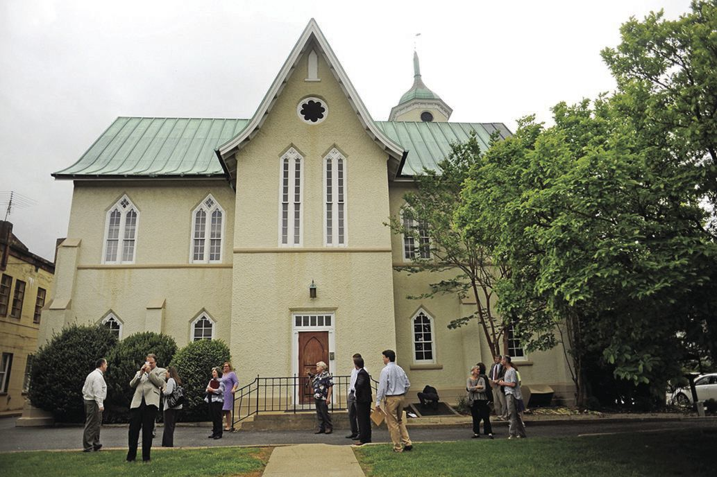 St. George's Episcopal Church seeks to lease part of Fredericksburg's historic Renwick buildilng (copy)