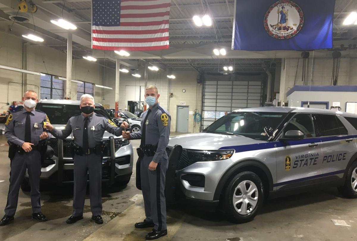 Two state troopers in November were the first to be issued the new Ford SUV Interceptors