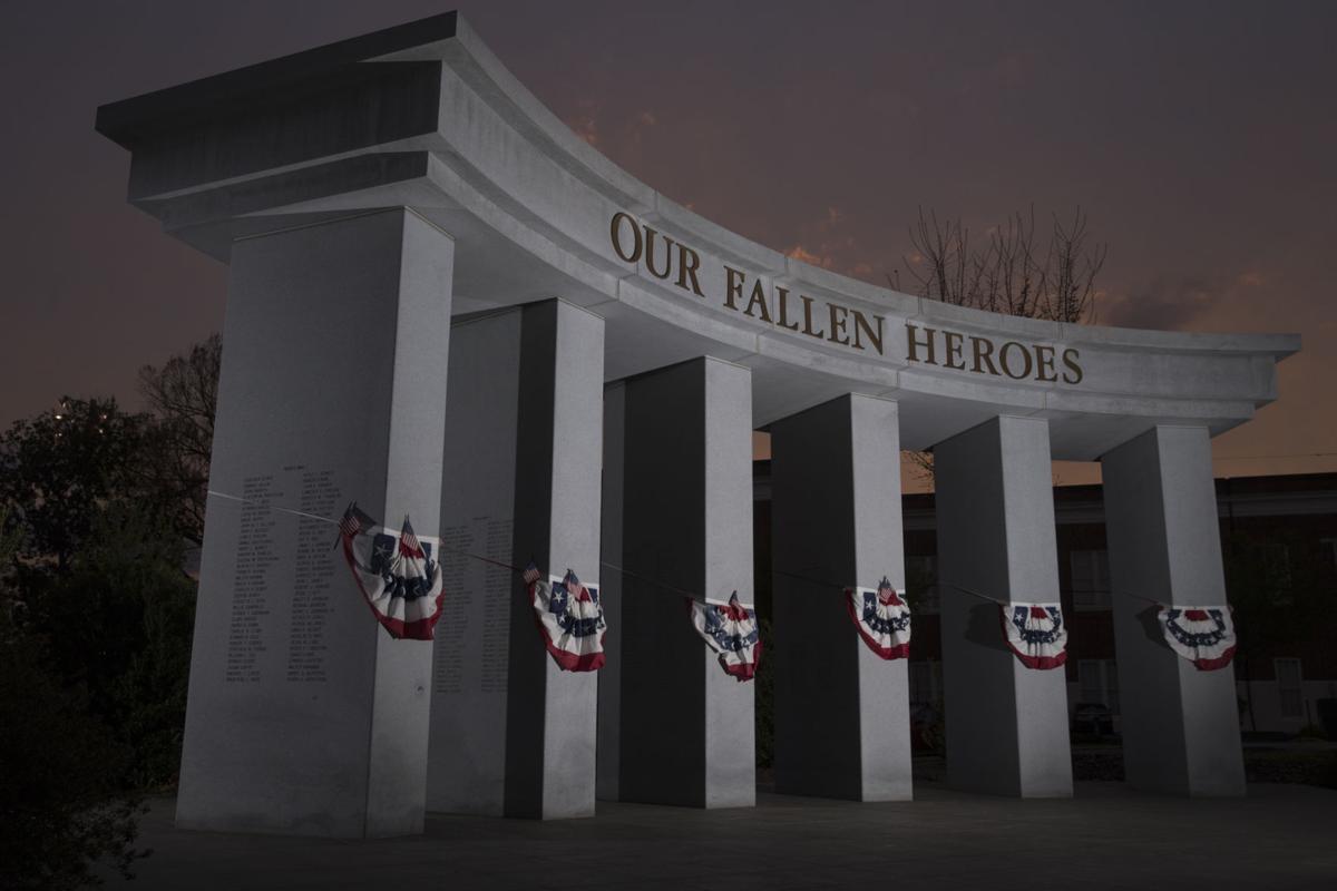 Fredericksburg Area War Memorial