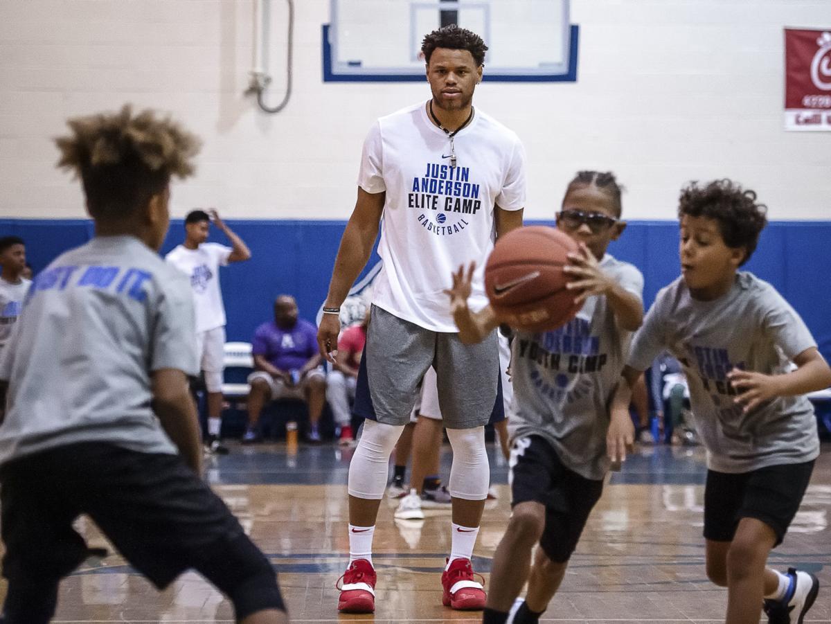 Justin Anderson Basketball Camp