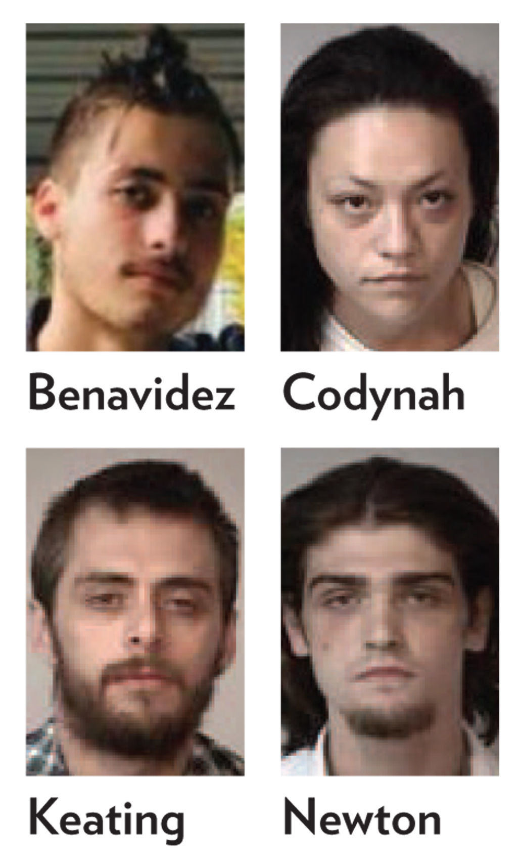 Four charged in connection with Metzger case (copy)