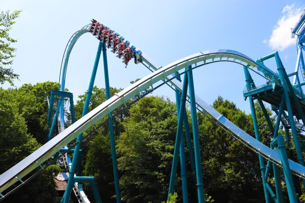 Busch Gardens Williamsburg's Alpengeist roller coaster