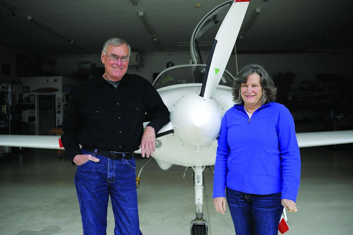 Stafford pilot Bill Harrelson flies around the world in small plane