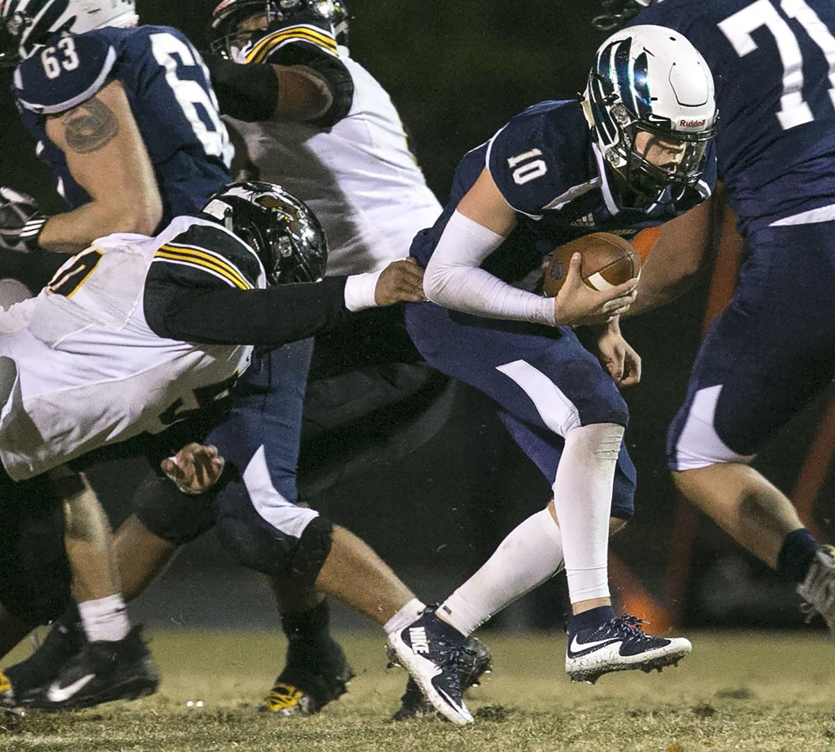 Highland Springs at Colonial Forge football