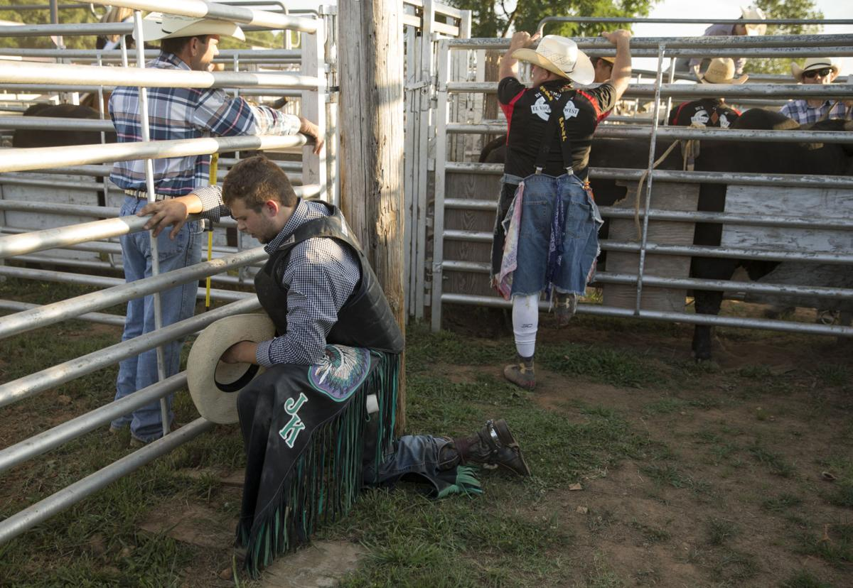 how to ride a bull in a rodeo