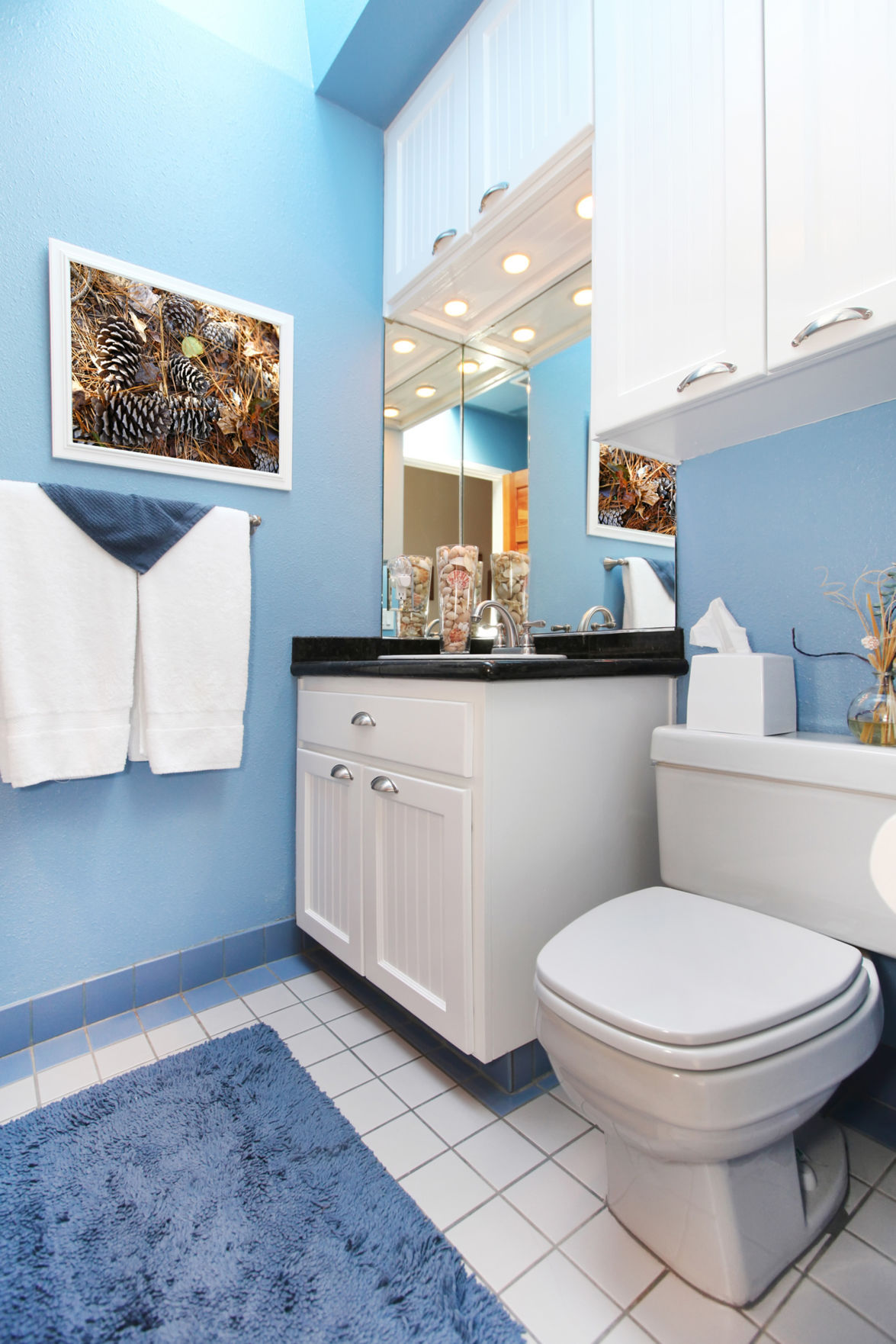 Painting your bathroom this color increases your home\'s value by ...