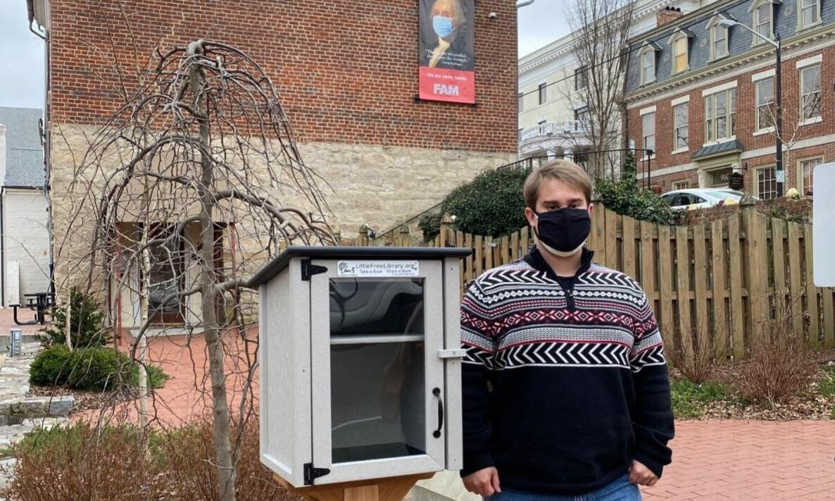 Fredericksburg Area Museum announces the unveiling of a Little Free Library