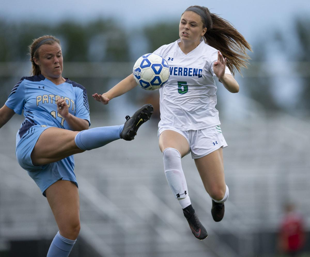 Riverbend vs First Colonial girls soccer