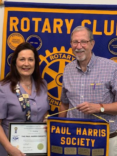 HONOR: North Stafford Rotary president is newest member of Paul Harris Society