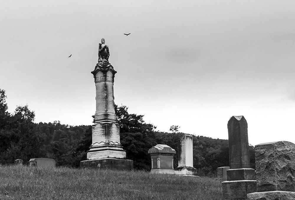 Cemetery in Burkittsville Md 20th anniversary of
