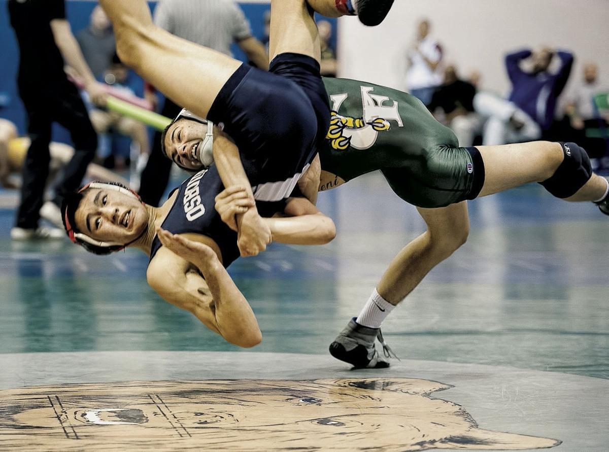 Northwest Region wrestling tournament