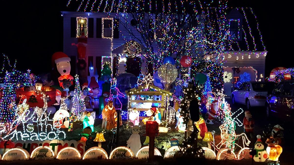 Christmas Lighting Richmond Va.5 Tacky Lights Houses To Follow On Facebook