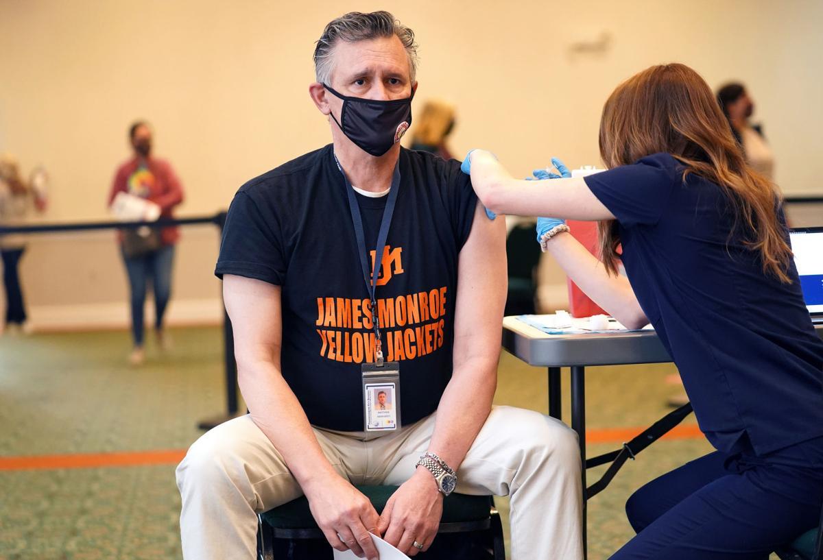 City Schools staff vaccines