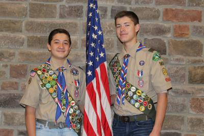 King George Troop welcomes new Eagle Scouts