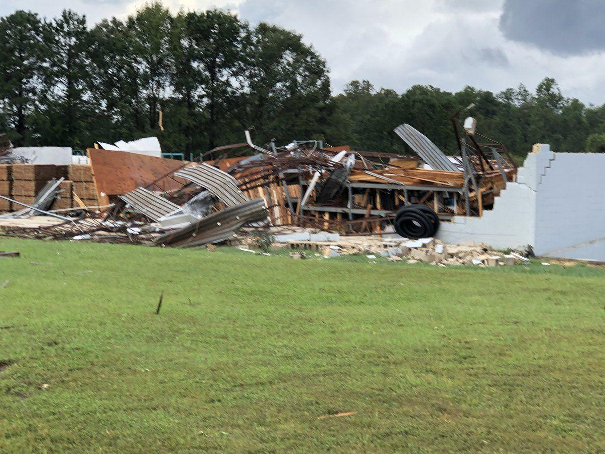 Tuesday afternoon update: NWS confirms tornadoes in Chesterfield