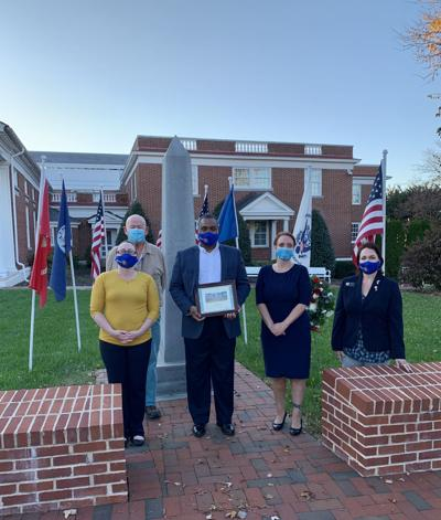 ROTARY CLUB: North Stafford celebrates with flags for heroes