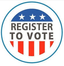 PHOTO: Voter registration