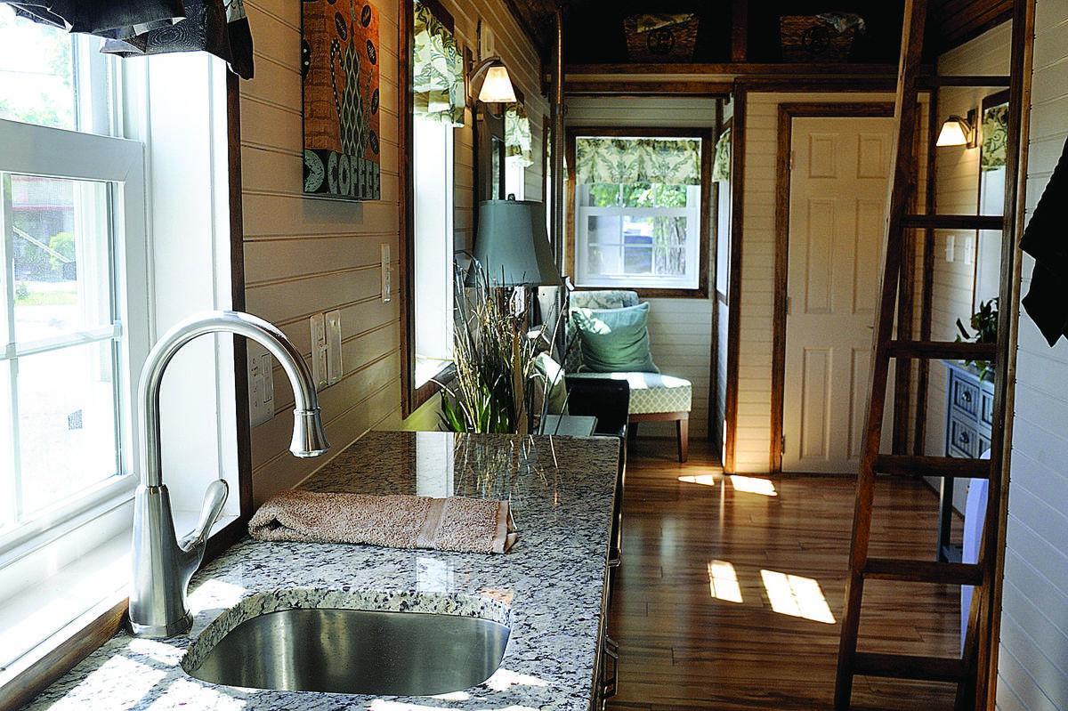Tiny home is modern housing alternative