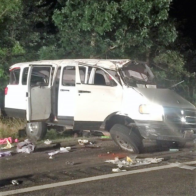 Six People Killed, 10 Injured In Van Crash On I-95 In