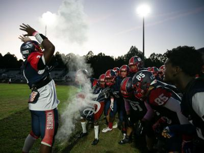 Spotsylvania vs Chancellor football