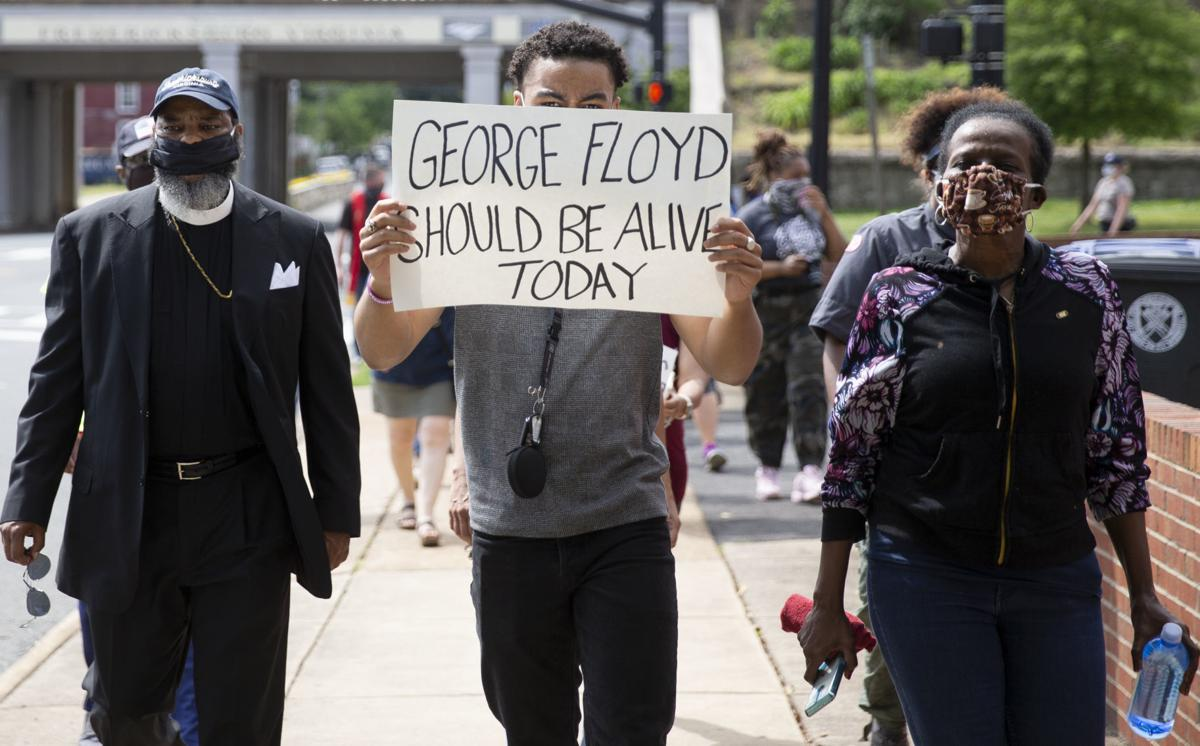 George Floyd March