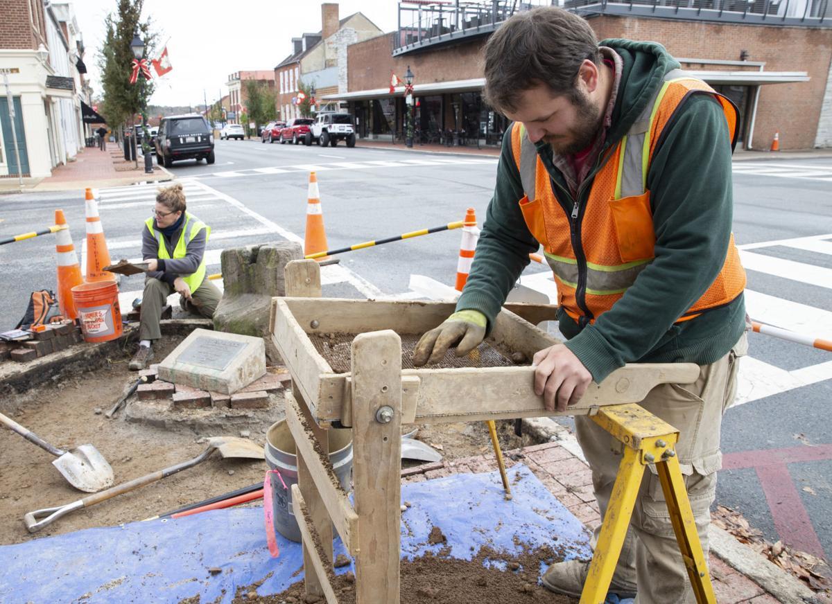 Auction block excavation