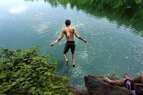 Swimming continues at Fredericksburg quarry despite teen's