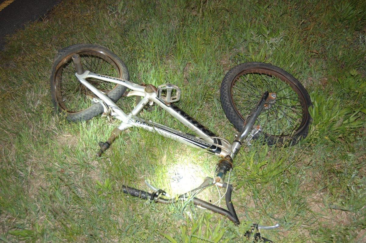 Biker hurt