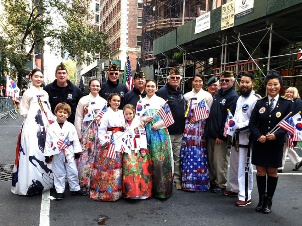 PARADE: Local dojang honors veterans in New York City