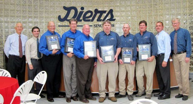 Diers Ford Lincoln Employees Receive Honors Local News Fremonttribune Com