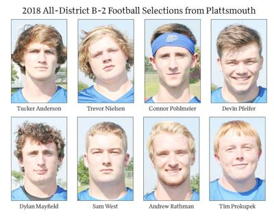 Plattsmouth FB district selections
