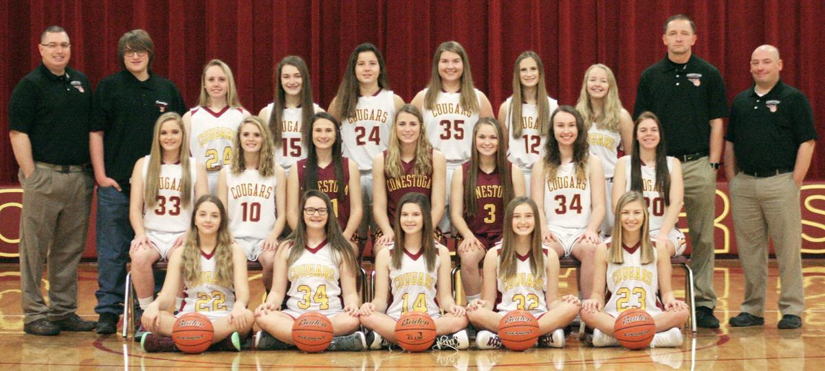 2017-18 Conestoga girls basketball team photo
