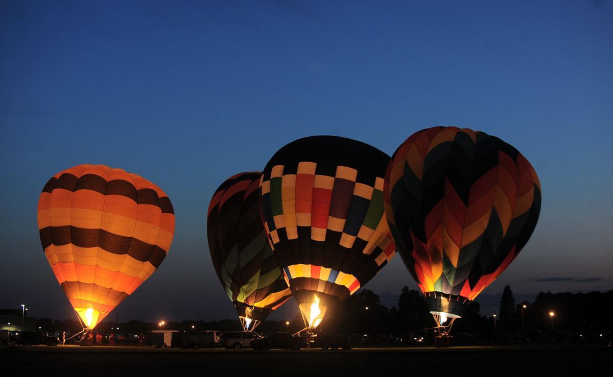 2019 John C. Fremont Days - Balloon Glow