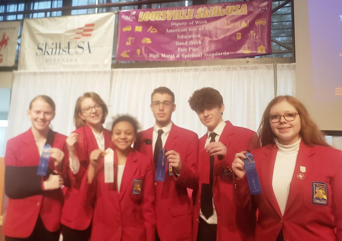 Louisville students at SkillsUSA conference