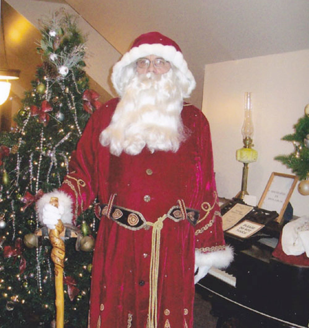 Christmas on the Prairie Santa