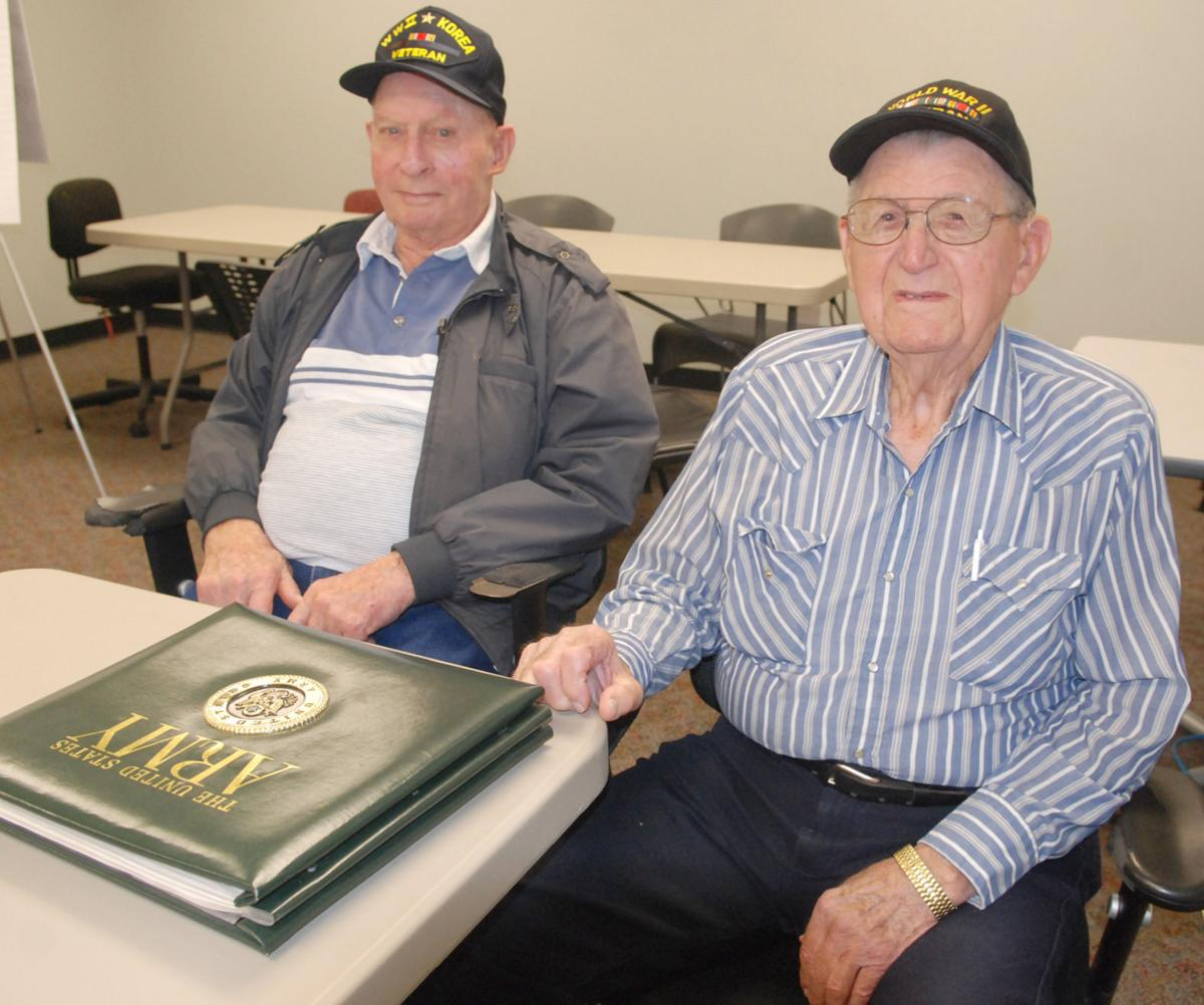 Veterans recall World War II