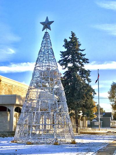 Keene Library Christmas Tree