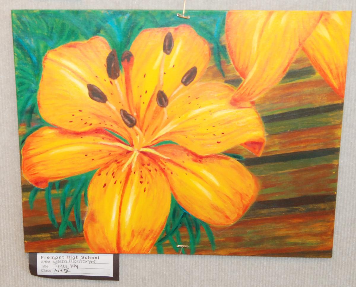 School show tiger lilies