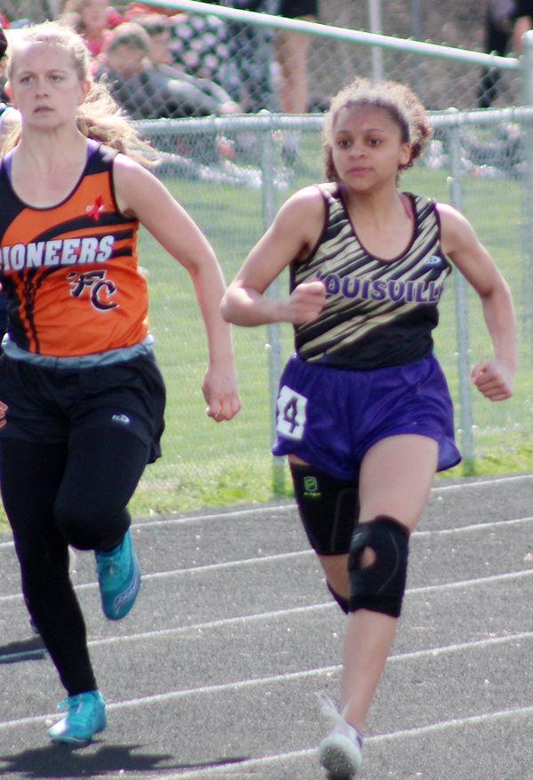 Isandra Hagge in 100 meters