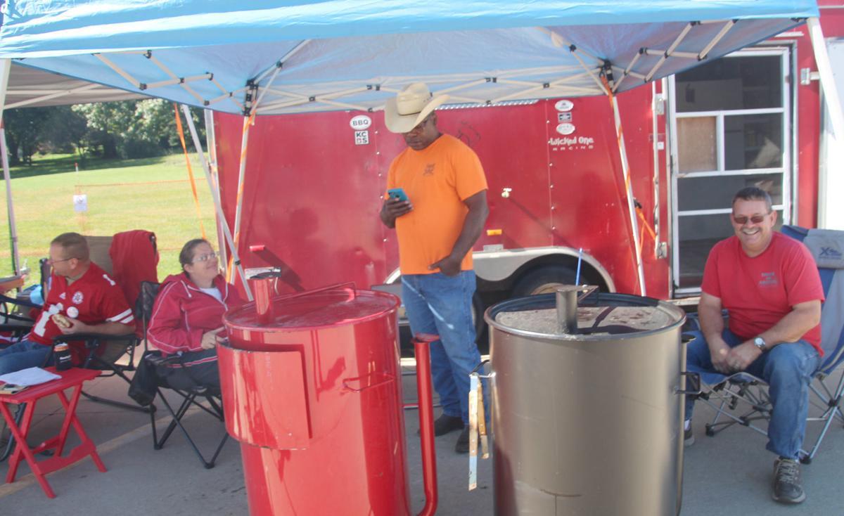 Barbecue participants