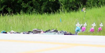 Young Road fatal car accident photo